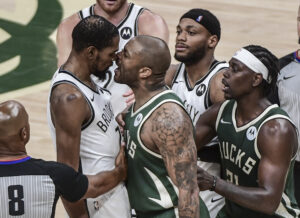 Nets security guard will not work in Milwaukee Bucks home arena