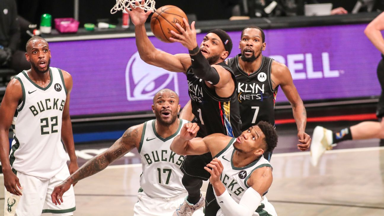 Nets defeat Bucks and lead by 2-0