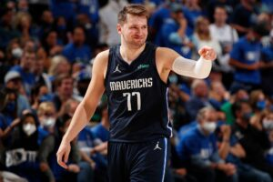 Luka Doncic leads Slovenia to the first victory in Olympics
