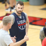 Kevin Love out of USA Men's Basketball team